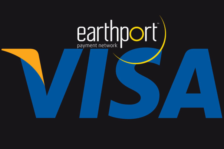 visa to acquire earthport network