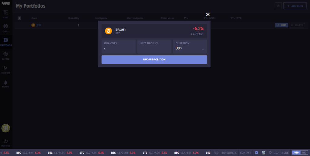 Faws cryptonews aggregator focuses on customization ease for readers 2