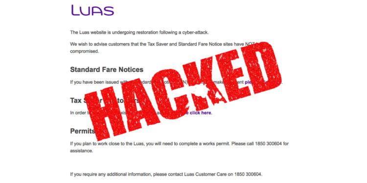 irish tram operator hacked for bitcoin ransom