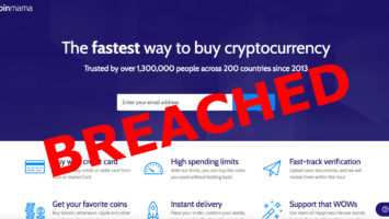 About 450k Coinama crypto brokerage users at risk after hack 2