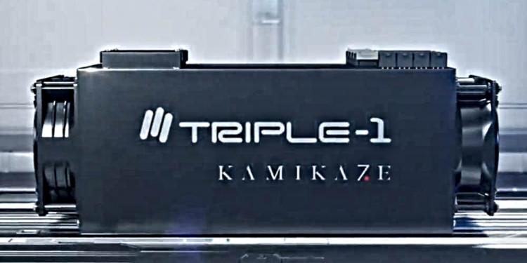 "Triple-1 and Fujitsu partner for 7nm loaded ""Kamikaze"" Bitcoin mining machine 1"