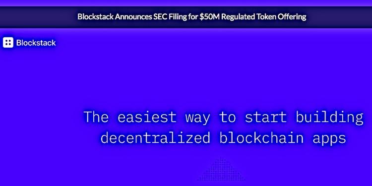 Blockstack blockchain aims to raise $50m in token sales 1