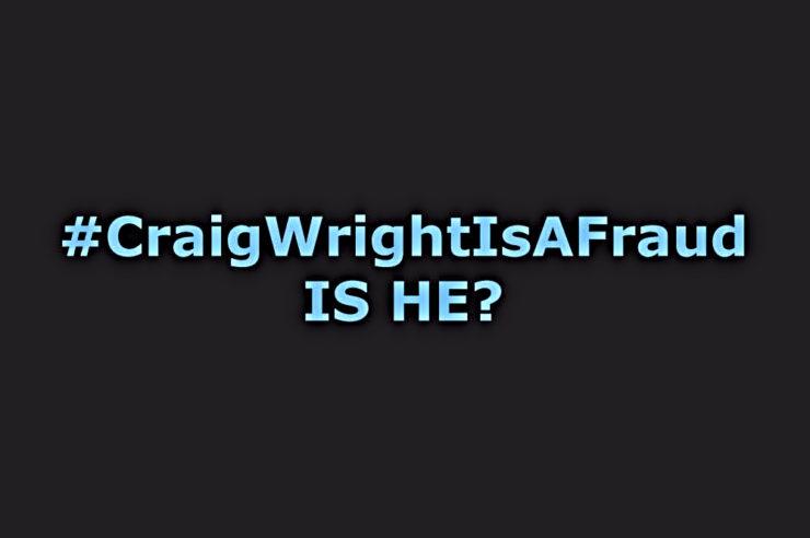 #CraigWrightIsAFraud goes strong after Wright sends Hodlonaut notice 1