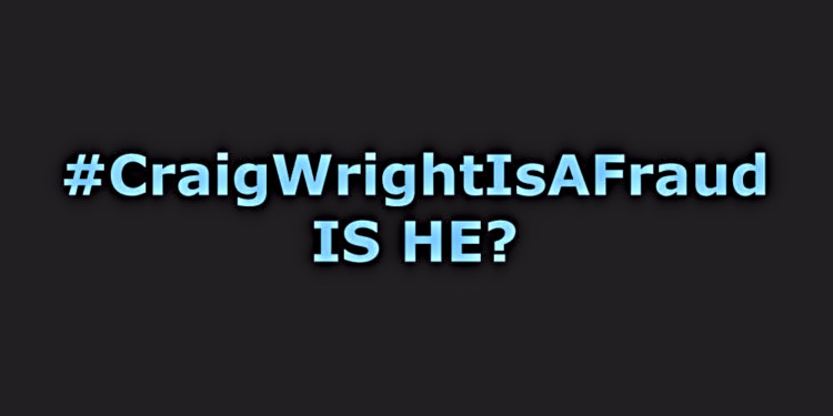 #CraigWrightIsAFraud goes strong after Wright sends Hodlonaut notice 1