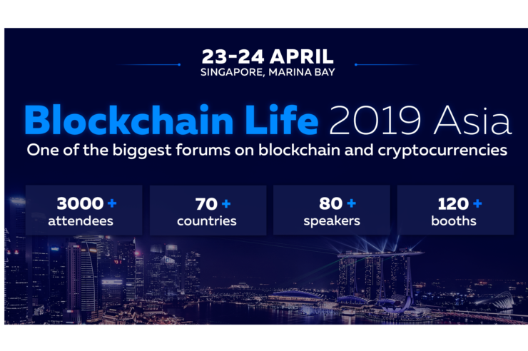 3000+ Guests From 70 Countries Attending Blockchain Life 2019 1