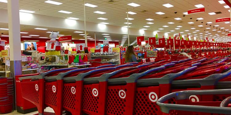 Target joins blockchain