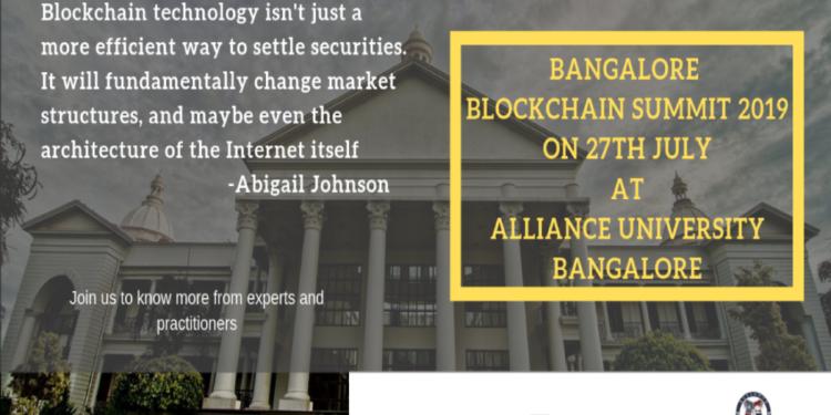 Bangalore Blockchain Summit 2019 1