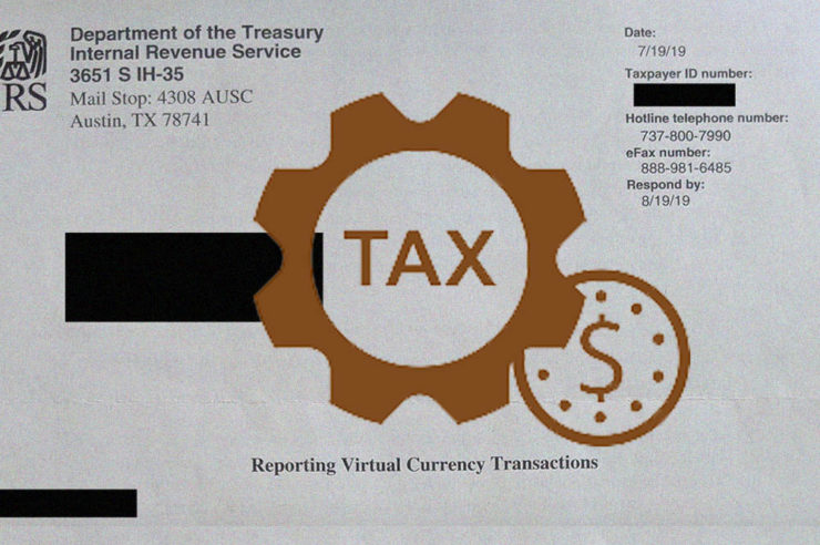 Breaking: IRS crypto letters start arriving in the U.S 1