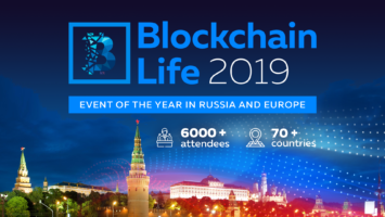 Blockchain Life 2019: October 16th—17th, Moscow, Expocentre 2
