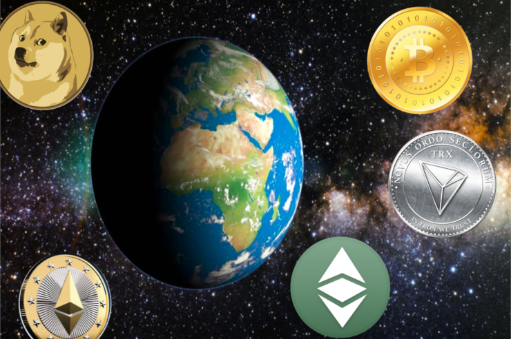 Cryptocurrencies and their value have increased globally since 2008 1