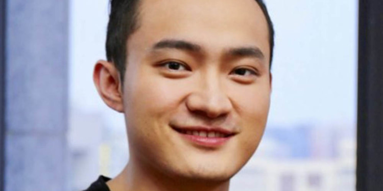 Justin Sun giveaway: $10000 per month in 2020