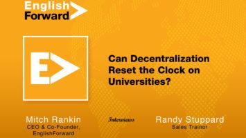 Can Decentralization Reset the Clock on Universities? 2