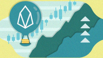 EOS price up by over 12 percent: EOS leading top 10 crypto 1