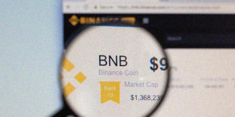 Binance coin price takes a bullish run to $17.75