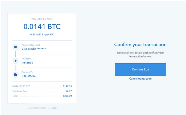 How to buy Bitcoin instantly with a bank account 4