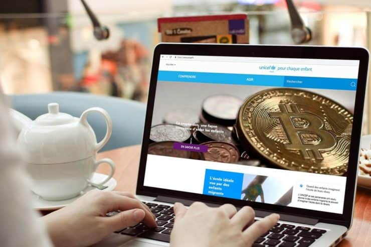 Cryptocurrency donations will not be converted to fiat, UNICEF