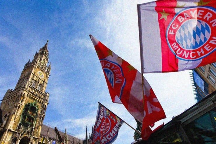 FC Bayern Munich blockchain based token, cards and merchandise