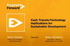 Cash Transfer Technology Implications for Sustainable Development 3