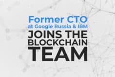 Interview with the Former CTO at Google: Position within Credits Blockchain Company 6