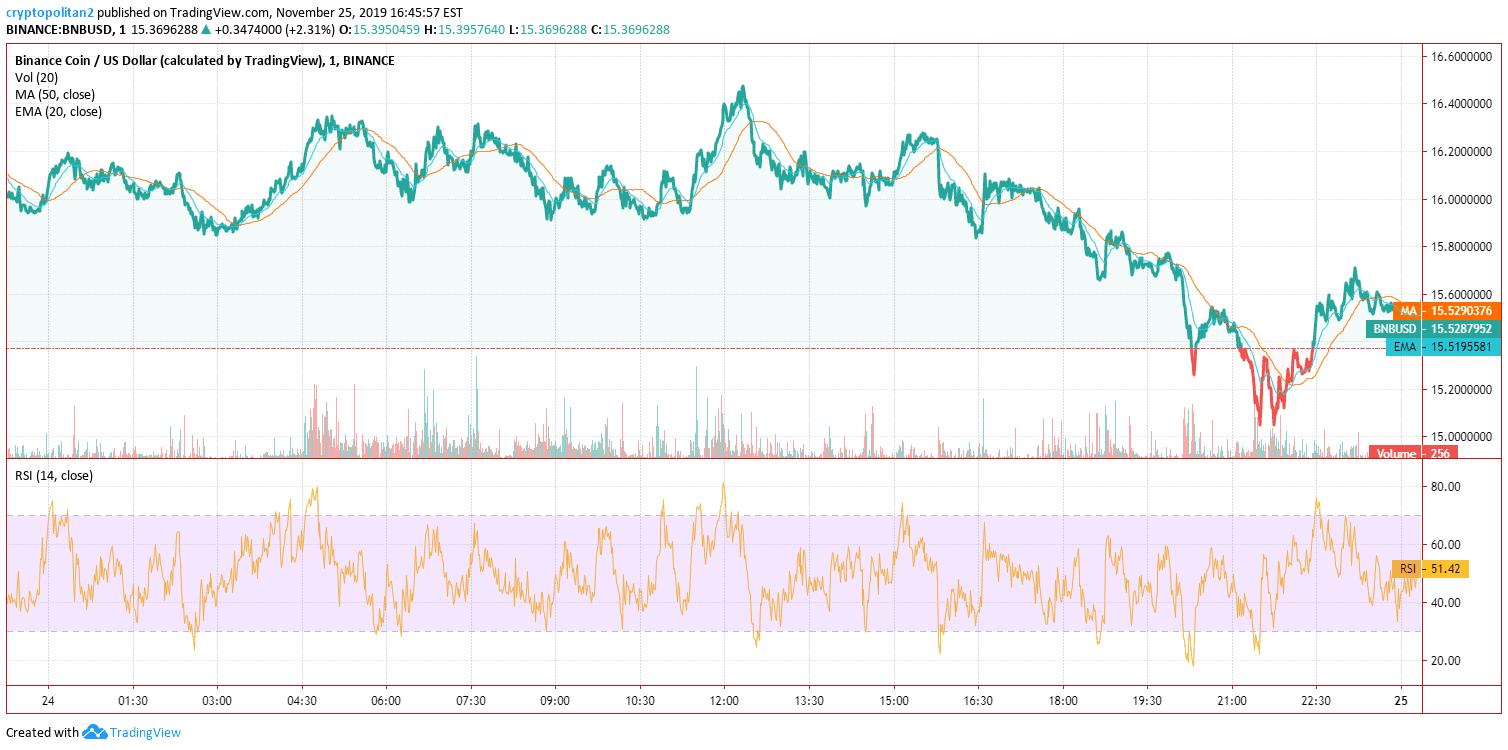Binance Coin BNB Price Analysis Chart 2