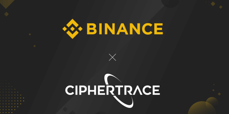 CipherTrace Binance Chain to boost anti-money laundering efforts