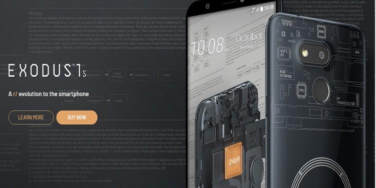 Binance HTC Blockchain phone Exodus 1 launched at $599