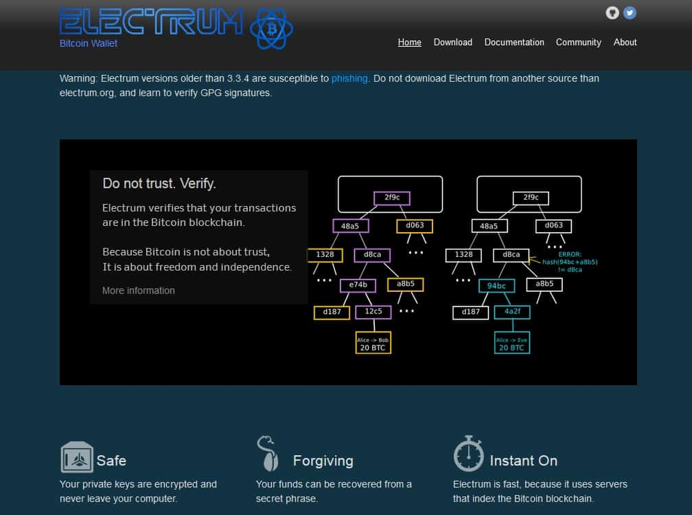 Electrum wallet - still the King of Bitcoin Wallets?