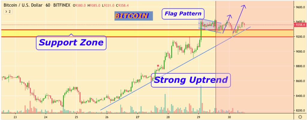 Bitcoin price prediction chart - 30 January 2019