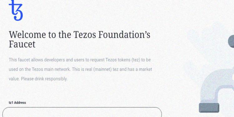 Tezos foundation free XTZ tokens giveaway