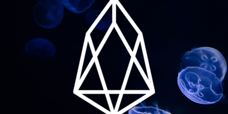 EOS price falls back to $3.8 1