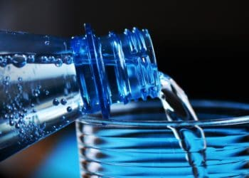 bottled water crypto scam