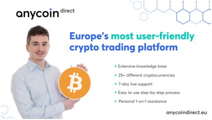 Anycoin Direct launches innovative new platform 1