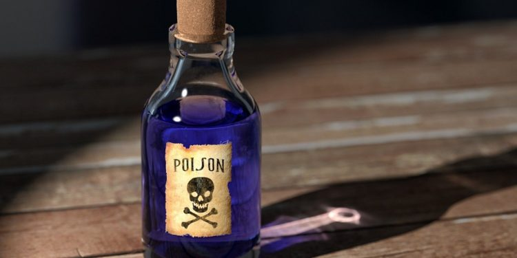 Selling poison for Bitcoin